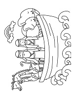 free noahs ark coloring page