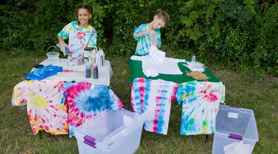 kids tie dye idea