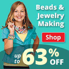 Beads & Jewelry Making Supplies up to 63% Off!
