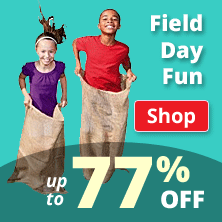 Field Day Fun up to 77% Off!