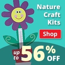 Nature Craft Kits up to 56% Off!