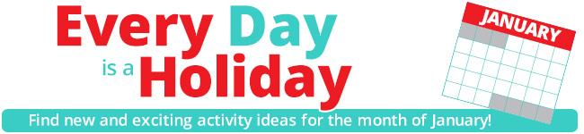 January Daily Holidays
