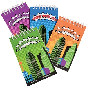 superhero notebook