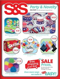 discount party supplies and novelty items