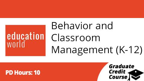 Behavior Management Course for Teachers
