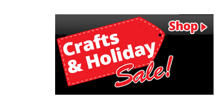black friday holidays and crafts on sale