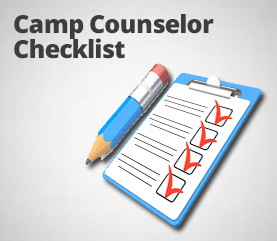 camp counselor checklist