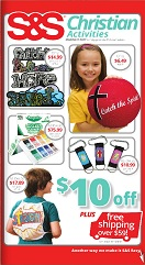 Christian Kids Activity catalog