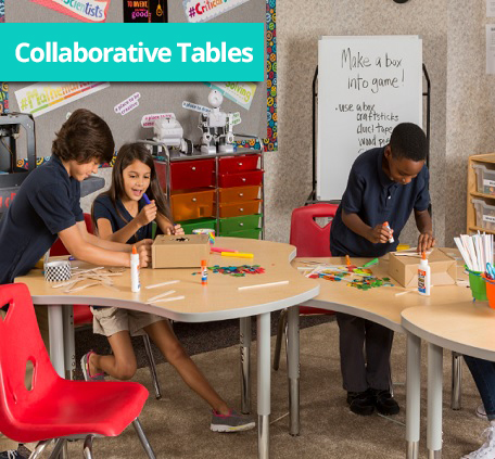 collaborative classroom tables