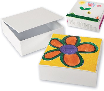 diy square coloring box