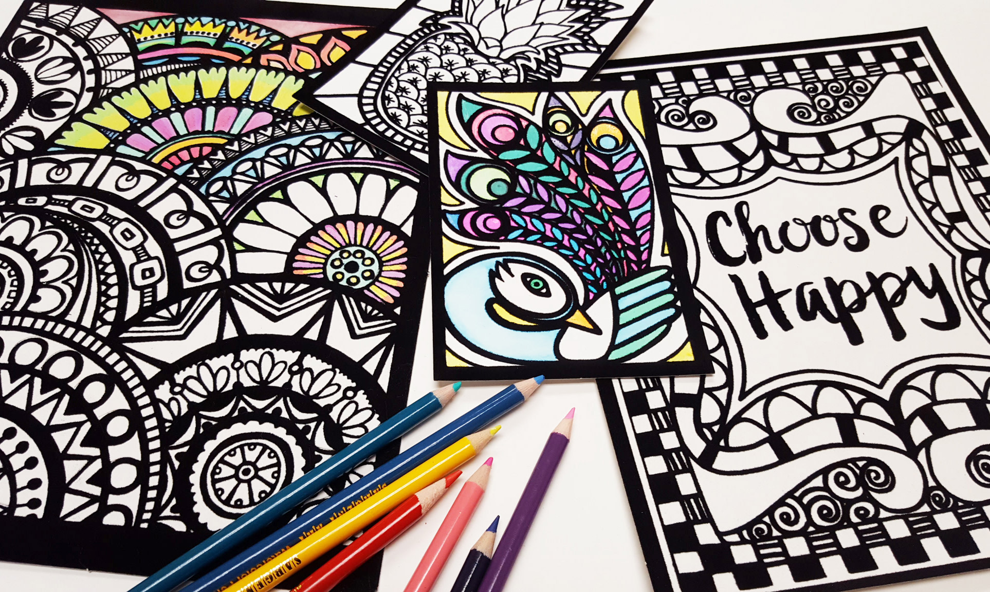 coloring ideas and projects