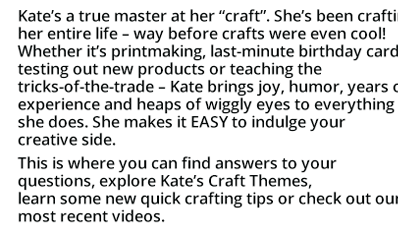 Free resources for crafters