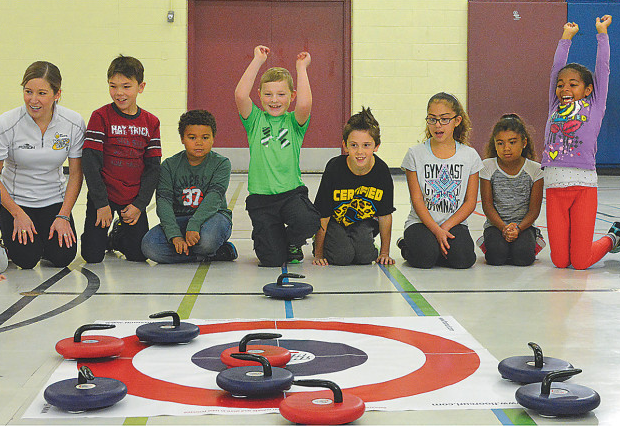 floor curling schools