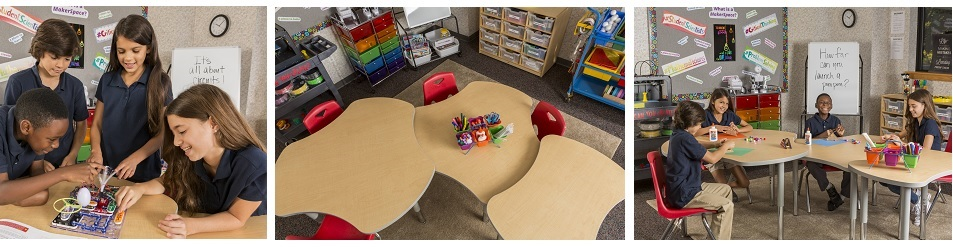 collaborative classroom furniture