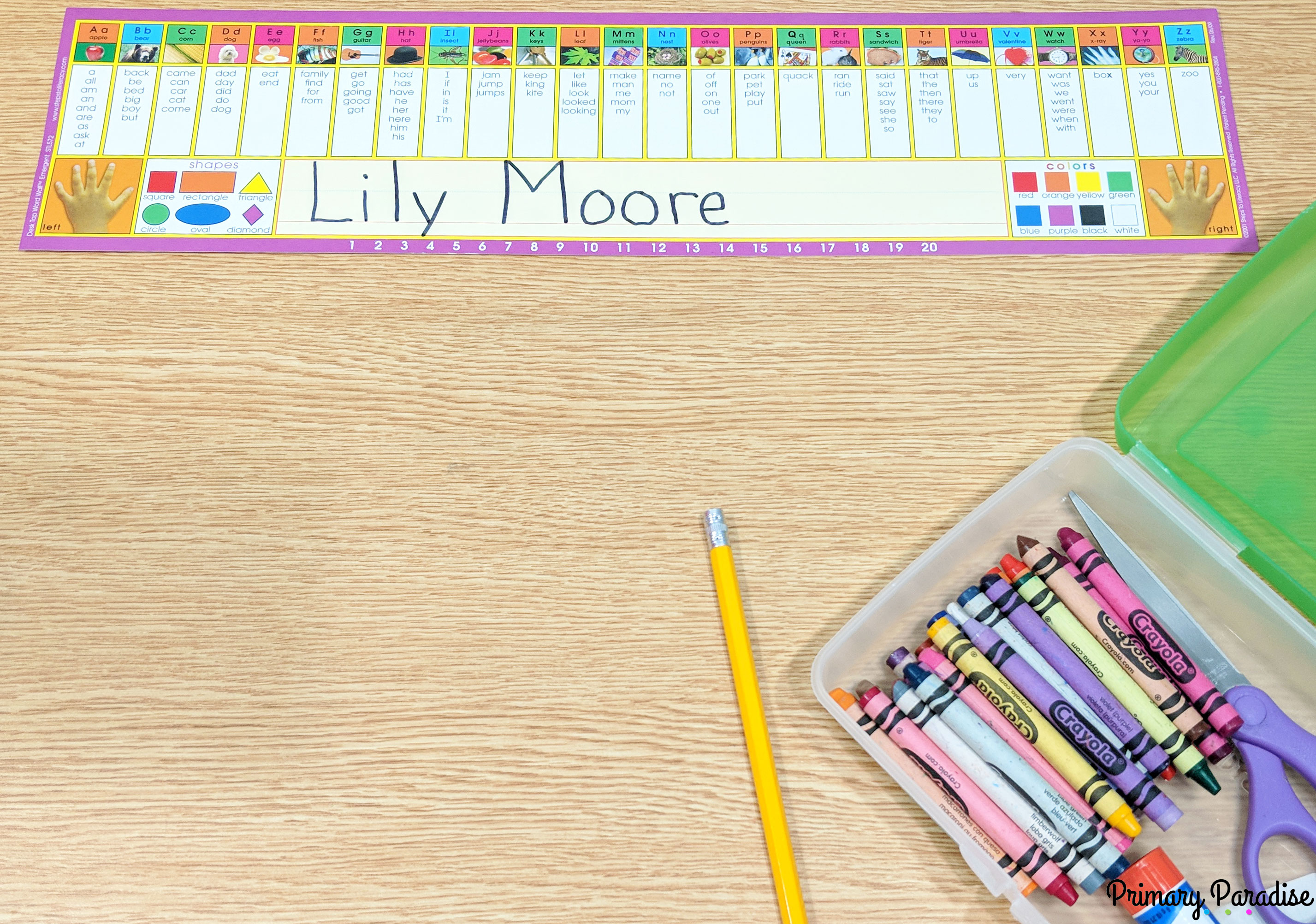 Back to School: Word Walls & Take Home Book Solutions | Education World