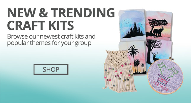 Shop Craft Kits For Group Crafts