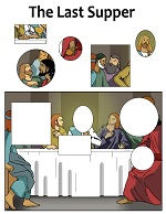 Last Supper Christian Activity