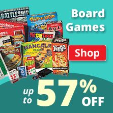 Board Games up to 57% Off!