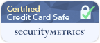 This site protected by SecurityMetrics