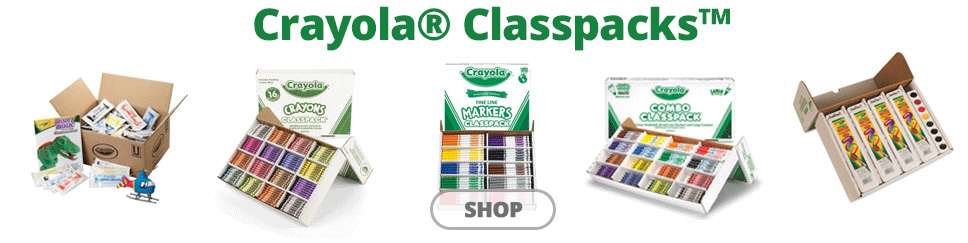 crayola classpacks on sale