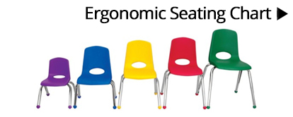 ergonomic seating chart